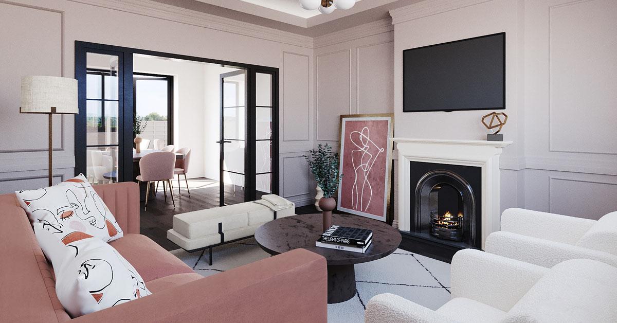 Wie richte ich eine Relaxzone in meinem Wohnzimmer ein?
