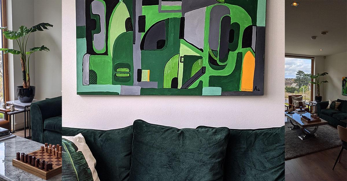 Dunkle Möbel im Wohnzimmer - Wozu passen sie am besten?