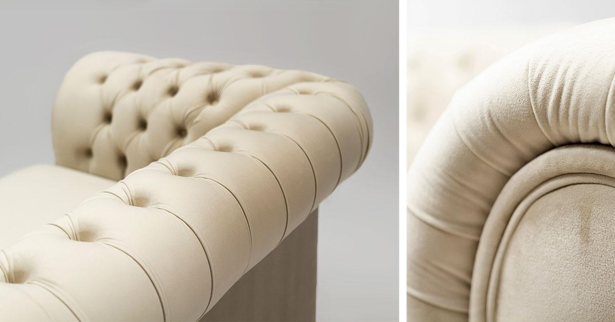 Beigefarbene Retro-Sofas - welche Modelle werden zu einem klassischen Salon passen?
