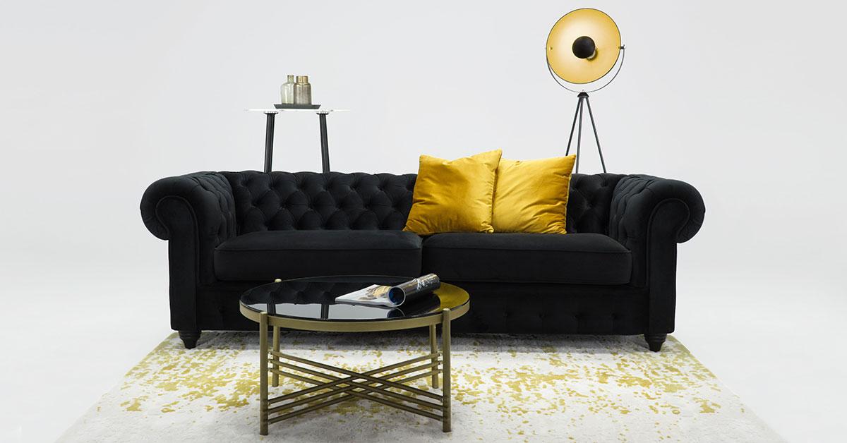 Gesteppte Sofas - welches Modell wählen Sie für Ihr Wohnzimmer?