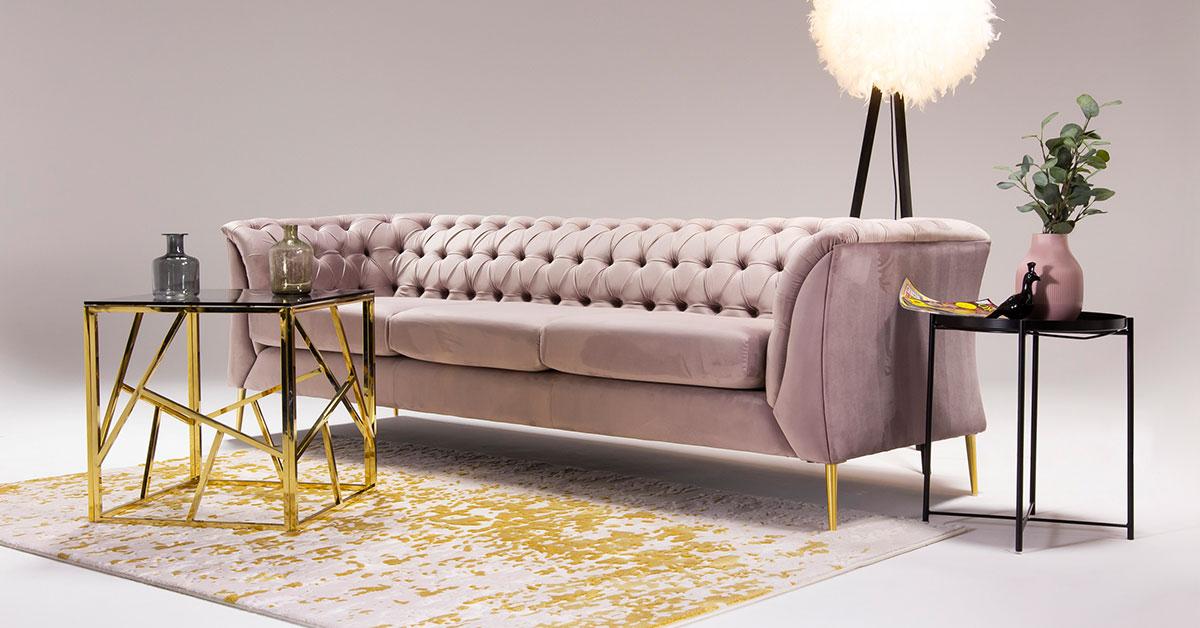 Sofas und Sessel in Rosa: Unsere 6 Vorschläge für ein modernes Wohnzimmer