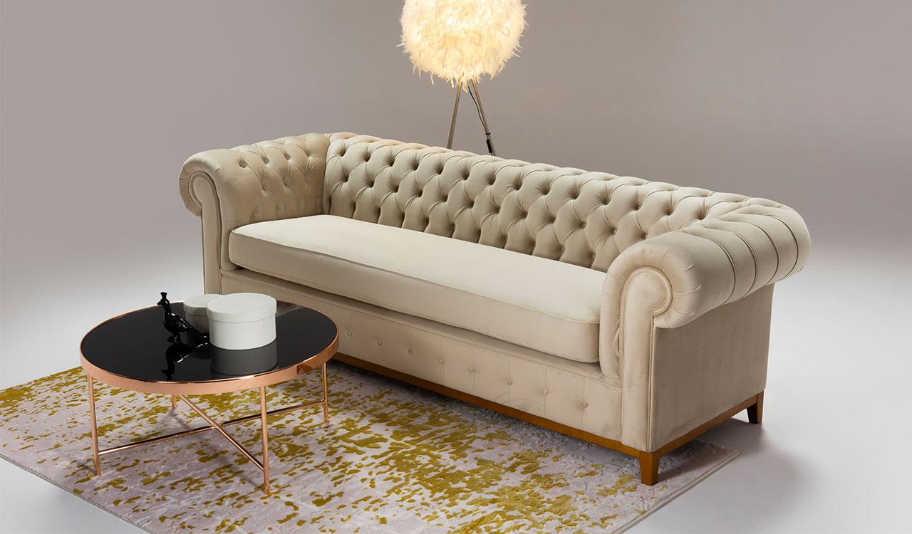 Ein Sofa in Beige. Welches Sofa in Beige-Tönen passt in ein modernes Wohnzimmer?