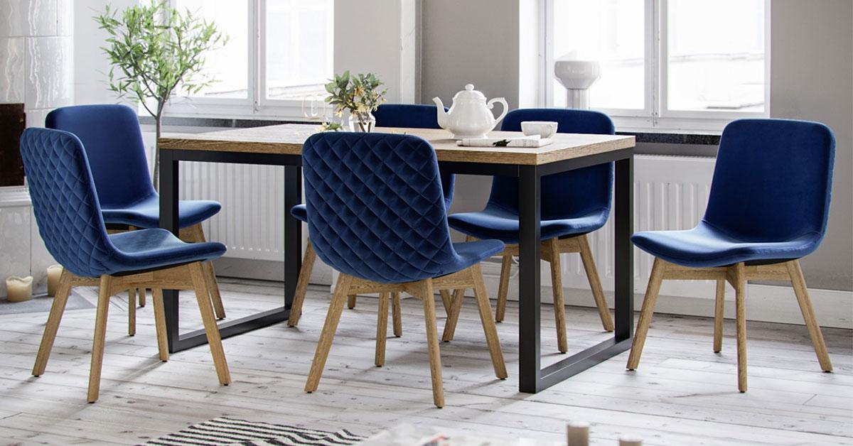 Elegante Polsterstühle. 6 Stühle für Ihr Esszimmer