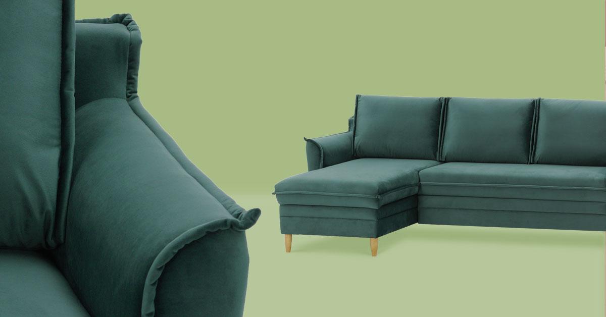 Kleine Innenräume – welches (Eck-)Sofa sollte man wählen, damit die Gestaltung funktional und geräumig ist.