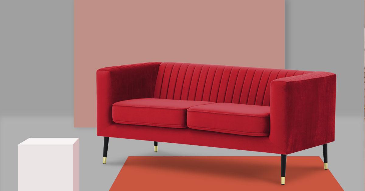 Die Top 5 der roten Sofas