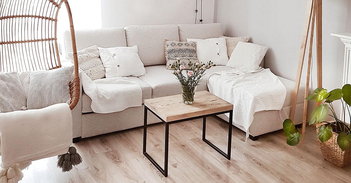 Wie man ein gemütliches Wohnzimmer einrichtet