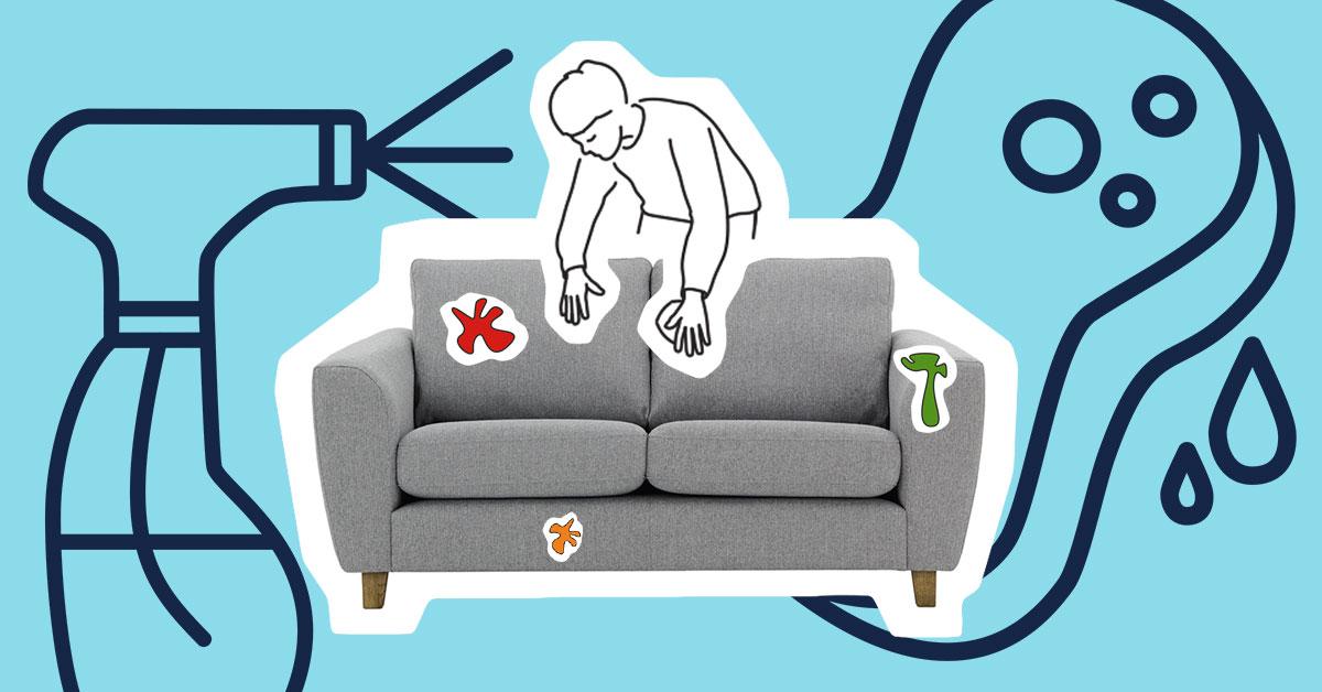 Wie pflegt man Polstermöbel?