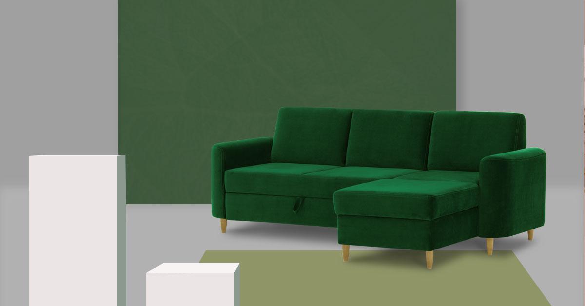 Top 10 der Sofas in Grüntönen
