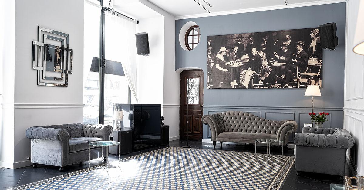 Welches Sofa für einen Innenraum im Industrial-Stil?